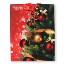Пакет подарочный Новогодний, большой, 18*23 см