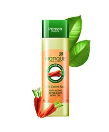 Антивозрастное масло для тела после душа с морковью Bio Carrot Seed Biotique, 120 мл