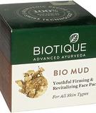 Маска для лица антивозрастная с глиной для всех типов кожи Biotique, 75 г