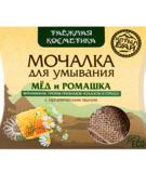 Мочалка льняная Мед и ромашка Алтын, 60 г