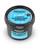 Бальзам-глина для волос очищающий So clean Organic Kitchen, 100 мл