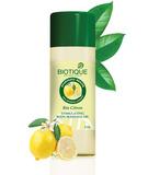 Масло для тела стимулирующее массажное, Bio Citron Stimulating Massage Oil Biotique, 200 мл