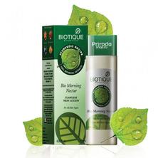 Лосьон для лица Утренний нектар для всех типов кожи, Bio Morning Nectar Biotique, 120 мл