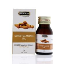 Масло Сладкого миндаля, Sweet Almond Oil Hemani, 30 мл