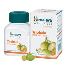 Трифала (Очищение, поддержание пищеварения), Triphala Himalaya Herbals, 60 таб