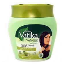 Маска для волос против выпадения волос с экстрактом чеснока и кактуса, Hair Fall Control Dabur Vatika, 500 мл