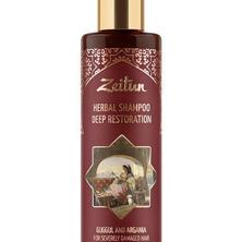 Глубоко восстанавливающий фито-шампунь для сильно поврежденных волос Zeitun, 200 мл