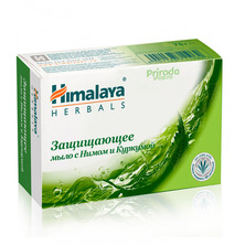 Защищающее мыло с Нимом и Куркумой Himalaya Herbals, 75 г