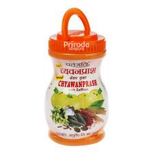 Пищевая добавка Chyawanprash (Чаванпраш) с шафраном PATANJALI, 500 г