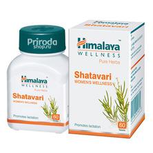 Шатавари (Омолаживающее растение для женщин), Shatavari Himalaya, 60 таб. (срок до 03/21)