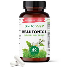 Комплекс витаминов для женщин Beautonica Skin Hair Nails DoctorWell, 60 капс