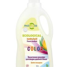 Гель универсальный для стирки цветного и линяющего белья Цветы мандарина Molecola, 1500 мл