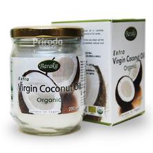 Кокосовое масло Вирджин органик премиум Барака (стекло), 200 мл