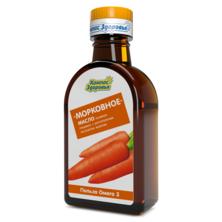 Масло льняное Морковное Компас здоровья, 200 мл