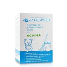 Хозяйственное мыло антибактериальное Pure Water, 175 г