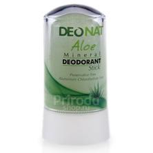 Минеральный дезодорант стик ДеоНат с экстрактом Алое и глицерином, 40 г