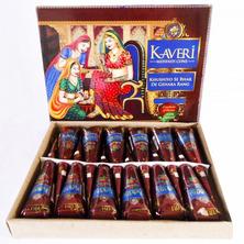 Хна в конусе для биотату коричневый Kaveri, 25 г