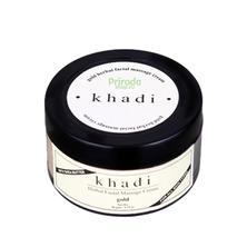 Массажный крем для лица с золотом и маслом Ши, Khadi, 50 г