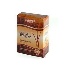 Травяная краска для волос Золотисто-коричневая Ааша, 60 г