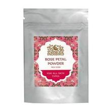 Лепестки Дамасской розы порошок, Rose Leaf Powder Indibird, 50 г