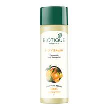 Масло для тела лечебное витаминизирующее массажное Biotique, 200 мл