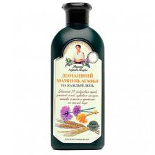 Шампунь Домашний для всех типов волос, Рецепты бабушки Агафьи, 350 мл