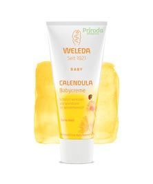 Крем для младенцев с календулой для защиты кожи в области пеленания, 75 мл