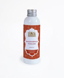 Масло Шудхабала Тайлам, Shudhabala Thailam Oil Indibird, 150 мл