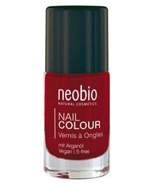 Лак для ногтей №06, Насыщенный красный NeoBio, 8 мл