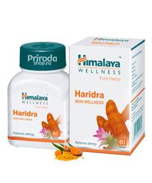 Харидра Куркума (Омоложение, очищение, иммунитет), Haridra Himalaya Herbals, 60 таб