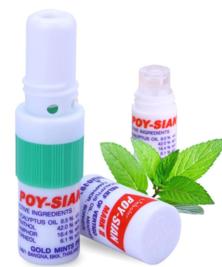 Карандаш-ингалятор освежающий с ароматом мяты Green herb