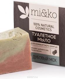 Туалетное мыло Дубовый мох MI&KO, 75 г (срок до 10/21)