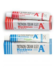 Набор Крем для здоровой кожи Третиноин, Retin-A Tretinoin 0,025% и 0,05%, 20 г