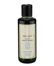 Масло для роста волос Амла Брахми Khadi, 210 мл