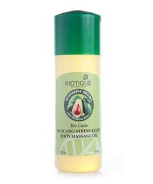 Масло массажное для тела с авокадо Biotique, 200 мл