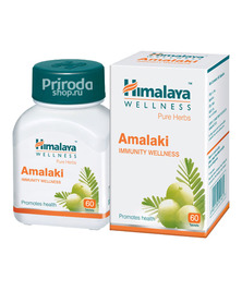 Амалаки (богат витамином С), Amalaki Himalaya, 60 таб.