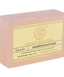 Аюрведическое мыло Сандаловое Дерево Khadi, 125 г