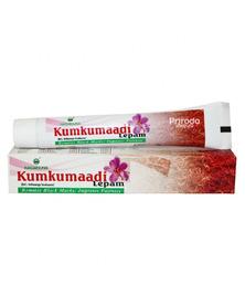 Аюрведический крем для лица восстанавливающий Kumkumadi Lepam (Кумкумади Лепам) NAGARJUNA, 10 г