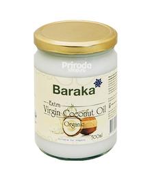 Кокосовое масло Вирджин органик Барака (стекло), 500 мл
