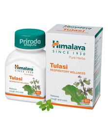 Тулси (Растительное средство от простуды и ОРЗ), Wellness Tulasi Himalaya, 60 таб.