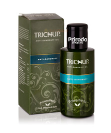 Масло для волос Против перхоти Тричуп, Hair Oil Anti Dandruff TRICHUP Vasu, 100 мл