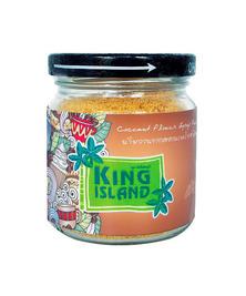 Кокосовый сахар в стеклянной банке KING ISLAND, 100 г