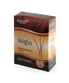 Травяная краска для волос Каштан Ааша, 60 г