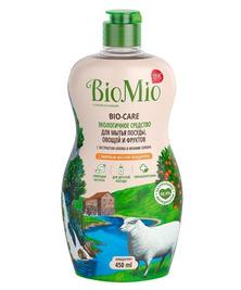 Экологичное средство для мытья посуды, овощей, фруктов с маслом Мандарина BioMio, 450 мл