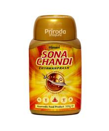 Чаванпраш Sona Chandi Himani (Сона Чанди с золотом и серебром), 500 г
