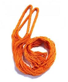 Авоська old style, оранжевая, 3л (хлопок)