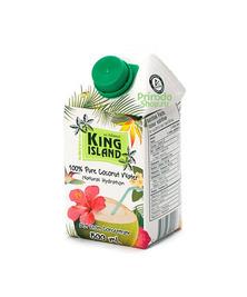 100% Кокосовая вода без сахара KING ISLAND, 500 мл