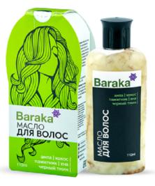 Масло Амлы для волос Барака, 110 мл