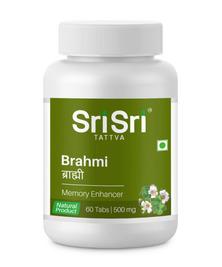 Брами Шри Шри, Brahmi Sri Sri (поддержание работы мозга), 60 таб