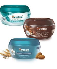 Набор №5 (Крема для тела С маслом какао, Питательный и Интенсивно увл.) Himalaya Herbals